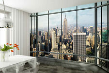 PAPIER PEINT MURAL MUR 315x232cm New York Penthouse - vue de fenêtre Décor