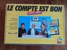 Jeu de société: LE COMPTE EST BON en français 100% COMPLET