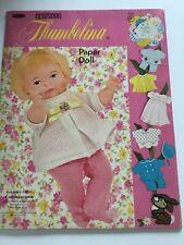 Vintage 1969 Newborn Thumbelina Paper Doll