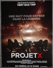Affiche PROJET X Project X NIMA NOURIZADEH Thomas Mann OLIVER COOPER 40x60cm