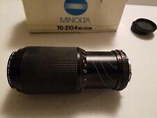 MINOLTA AF 70-210mm F/4 Tele ZOOM Lens from JAPAN