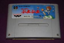 SUPER PUYO PUYO - Banpresto - Jeu Réflexion Super Famicom Nintendo SNES JAP