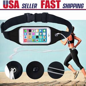 For iPhone 12 11 Pro MAX Sport Running Jogging Case Holder Waist Belt Bum Pouch
