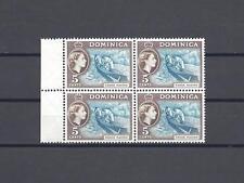 DOMINICA 1954-62 SG 147A MNH Block of 4 Cat £168