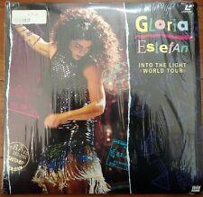 GLORIA ESTEFAN Laserdisc Into The Light World Tour Concert LD in shrink