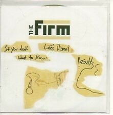 (615D) The Firm, Dismal Results - DJ CD