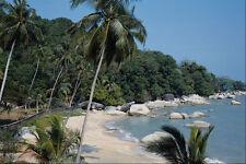 695037 Beach At Bahi Ferringhi Penang Malaysia A4 Photo Print