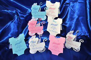 Personalised Christening  invitations hand made 2 designs 3 colours