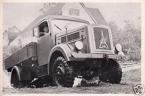Magirus - Deutz - Allradwagen * Typ A 3500 * 4 WD * orig. Sammelbild * 1952 ***