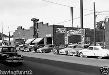 1953 Oldsmobile Cadillac dealership Showroom & Front Lot  8 x 10 Photograph