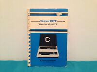 Commodore superPET warterloo microAPL tutorial & reference manual