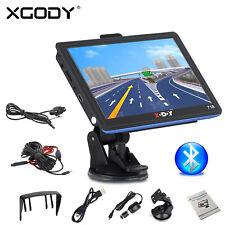 "Xgody 7"" Car Auto Gps Sat Nav Navigation Bt 8Gb + Rear view Backup Camera Kit"