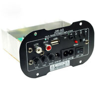 High Power Subwoofer Amplifier Board USB Remote Control For MotorcycleCar