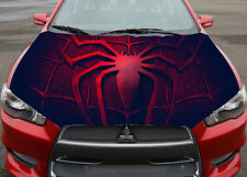 Spider-Man Sign Car Hood Full Color Sticker, Car Vinyl Graphics Decal Wrap MH229