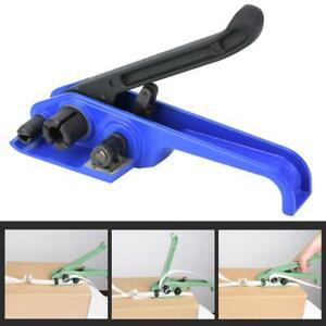 Manual PP/PET Hand Pallet Strapping Tensioner Tool Self-Contained Cutter Tool UK