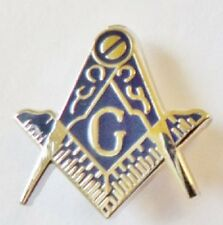 freemason compass and square with G lapel badge masonic the craft masonry mason