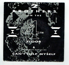 """2 BROTHERS ON THE 4TH FLOOR Vinyle 45T 7"""" CAN'T HELP MYSELF - BOUNCE 605.7 RARE"""