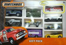 MATCHBOX FORD F100 PANEL DELIVERY FIRE CHIEF EXCLUSIVE 9 CAR COLLECTOR GIFT PACK