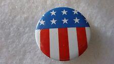 1990's Pinback Button U.S.A. Stars & Stripes *Vintage* Election Button Troy, Mi.