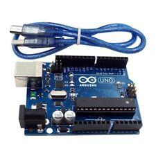 New ARDUINO UNO R3 ATmega328P CH340G Development Board with USB Cable