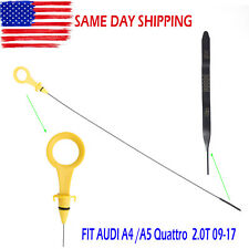 Engine Oil Dipstick Fit Audi A4 A4 Quattro A5 Quattro 2.0T B8 & B9 2009-2017 NEW