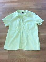 Tolle Bluse gelb kurzarm von S. Oliver Selection Größe 46, sehr gut erhalten!