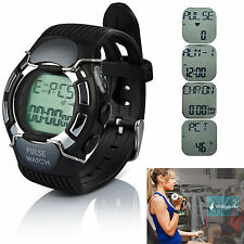 Sports Pulse Heart Rate Monitor Calories Counter Running Multifunctional Watch