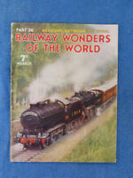 OLD RAILWAY WONDERS OF THE WORLD MAGAZINE. PART 26 - BELGIUM NETWORK