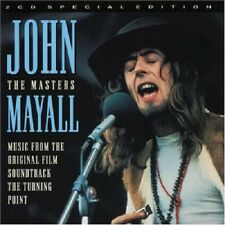 John Mayall The Masters 2-CD NEW SEALED 1999 Blues The Turning Point Soundtrack