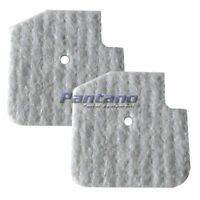 Set of 2 Husqvarna 531009637 OEM Leaf Blower Air Filter Fits 125BT