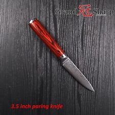 3.5 Inch Paring Knife Damascus Japanese Stainless Steel Kitchen Knives NEW