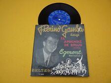 """Piero Gamba el aprendiz de brujo (EX-/VG+) Egmont Beethoven  7""""  ç"""