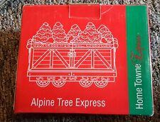 JC PENNEY 1998 ALPINE TREE EXPRESS TRAIN HOME TOWNE