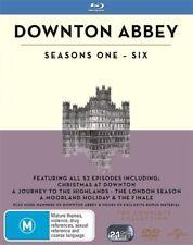 Downton Abbey - Seasons 1-6 : NEW (21 Disc Set) Blu-Ray