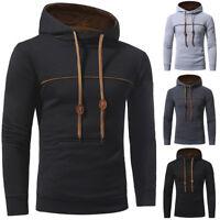 Men's Outwear Sweater Winter Hoodie Warm Coat Pullover Jacket Hooded Sweatshirt