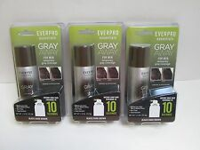Everpro Essentials Gray Away for Men Black / Dark Brown 1.5 oz. ea - Lot of 3