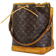 Louis Vuitton Sac Noe Beutel Gross Monogram Canvas Tasche Bag / Guter Zustand