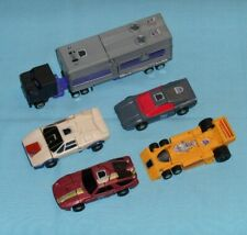 original G1 Transformers MENASOR LOT x5 Motormaster Dead End Dragstrip Wildrider