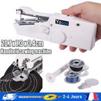 Mini point Machine à coudre électrique de maison de voyage portative portable