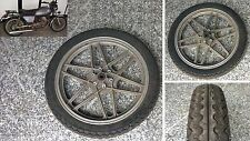 Cerchio Ruota Anteriore Gomma Omaggio Moto Guzzi V50 (V35 V75) Front Wheel Ruben