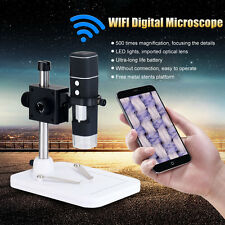 Portable WiFi Wireless 300X Camera Digital USB Microscope Magnifier For Phone