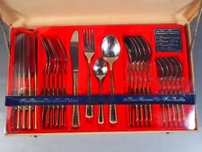King Star Royal Stainless Flatware Set King Star Gold Flatware SET NEW in BOX