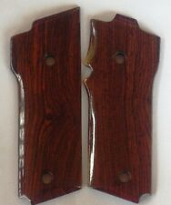 SMITH & WESSON MODEL 59 GRIPS WITH COCOBOLO ROOT WOOD S-3 L@@k