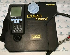 Parker UCC CM20 6 Channel Hydraulic Particle Counter