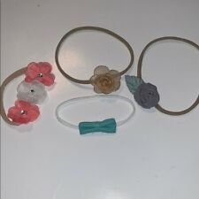 Lot of 4 Baby Girl Headbands