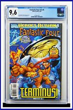 Fantastic Four #v3 #4 CGC Graded 9.6 Marvel April 1998 White Pages Comic Book