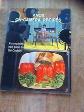 1962 'Knox On-Camera Recipes' from Knox Gelatin