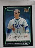 2008 Bowman Draft #BDP27 Evan Longoria RC MINT FROM PACK