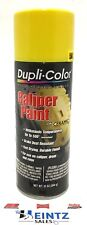 Duplicolor Bcp101 Caliper Enamel Paint With Ceramic Yellow Color 12 Oz Aerosol Can