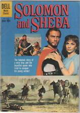 Solomon and Sheba Movie Four Color Comic Book #1070 Dell Comics 1960 FINE